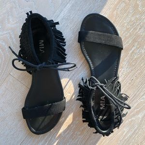 MIA fringe sandals